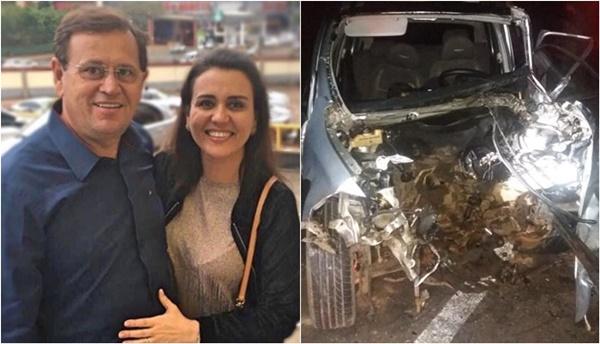 Hospital emite novo boletim médico sobre o estado de saúde de Stênio Rezende e a esposa.