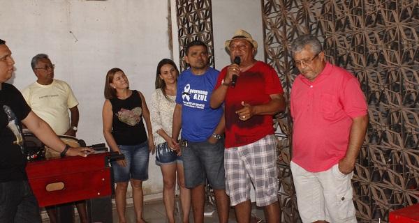 TENENTE CARLOS AO LADO DO ANIVERSARIANTE WILLAME.