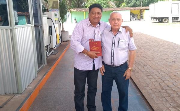 Diretor do Portal do Munim, tenente Carlos recebe elogios do presidenteAcademia Icatuense de Letras.
