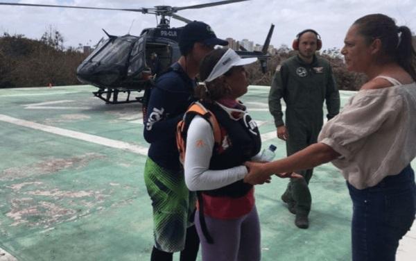 Velejadores desaparecidos em Barreirinhas são resgatados pelo CTA da PM-MA.