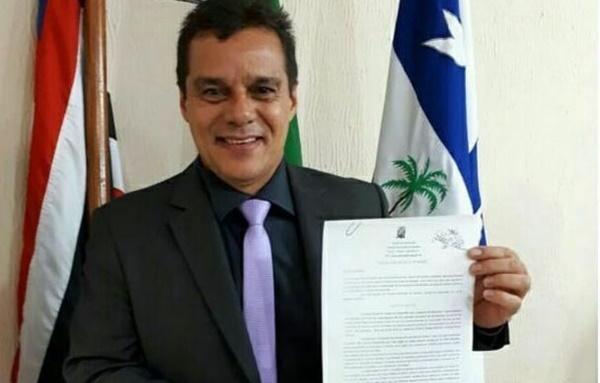 Vereador coronel Egídio da cidade de Bacabal apresenta na câmara projeto de criação da secretária de segurança.