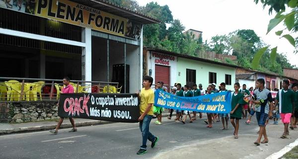 VEREADOR DOMINGOS LIMA ORGANIZANDO PASSEATA.
