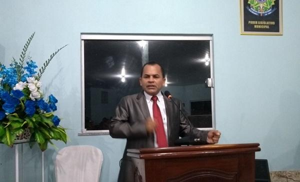 Vereador Fred Kennedy confirma pedido de afastamento do prefeito de Morros amanhã dia (21).