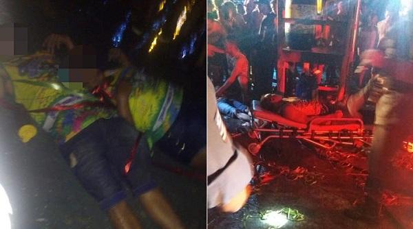 TRAGÉDIA: Descarga elétrica mata foliões no carnaval de Bom Jesus das Selva-MA.