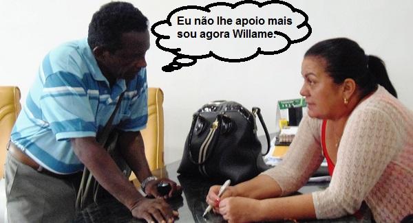 Vereador Josias do PMDB rompe com a prefeita.