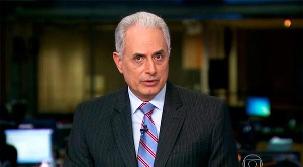 William Waack é afastado do Jornal da Globo após vídeo cair na web.