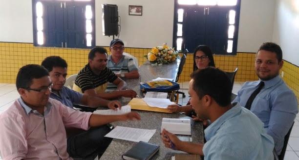 Comissão de Transição de governo em Paulino Neves se reúne para traçar metas.