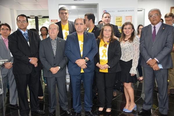 Campanha Setembro Amarelo é lançada nas Promotorias da Capital.