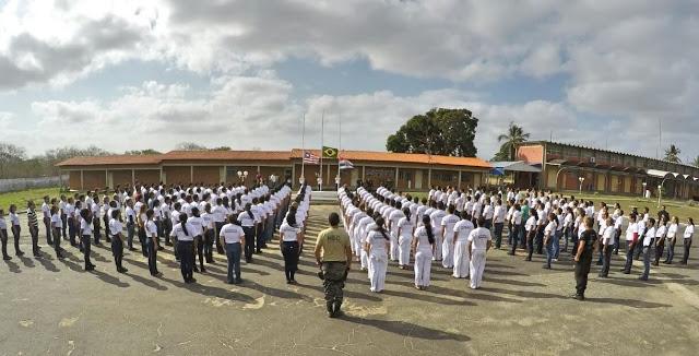 cerimônia de formatura dos 235 novos Agentes Penitenciários de Carreira.