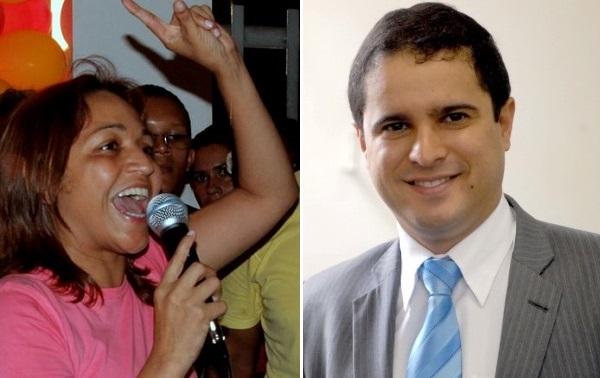 ELIZIANE GAMA E EDIVALDO HOLANDA.