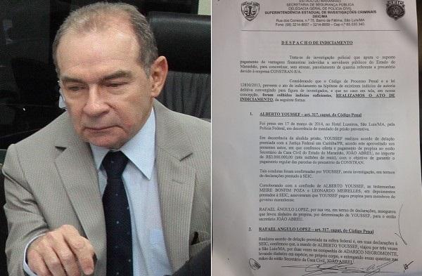 EX-SECRETÁRIO JOÃO ABREU É INDICIADO POR CORRUPÇÃO PELA POLICIA DO MARANHÃO.
