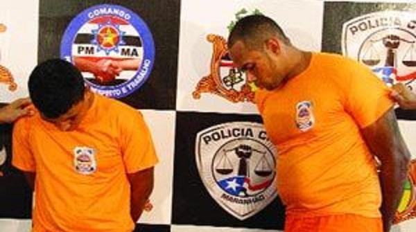 Edson Soares Maramaldo, o Coelho, e Markus Vinicius Soares do Nascimento.