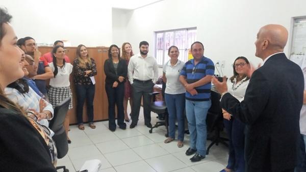 Corregedor realiza visita de avaliação na comarca de Rosário.