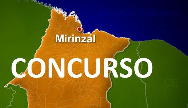 CONCURSO PARA PREFEITURA DE MIRINZAL.