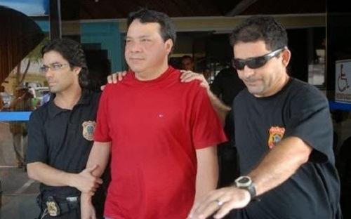 PREFEITO É DETIDO PELA POLÍCIA DO AM E ENCAMINHADO PARA CELA.