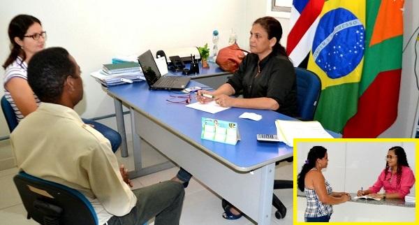 secretária municipal de Saúde Tatá Torres.