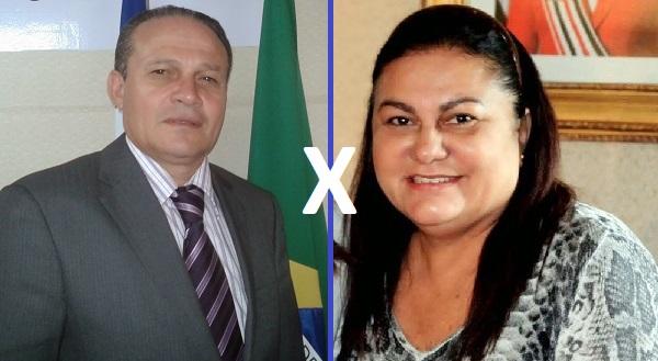 Vereador Pedrosa Filho (Necó)Prefeita de Rosário e Irlahi Linhares.