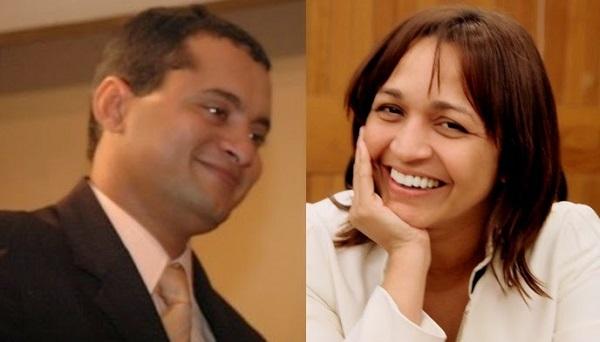 Deputado Weverton Rocha (PDT),Eliziane Gama (PPS).
