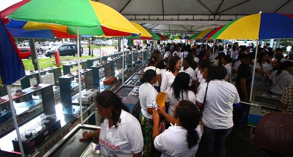 'Kits Negócios' foram distribuídos aos participantes do programa.