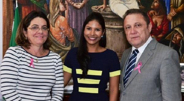 A juíza Adriana da Silva Chaves de Melo foi empossada na Comarca de Morros.