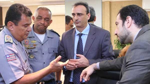 Cúpula da Secretaria de Segurança Pública do Estado.