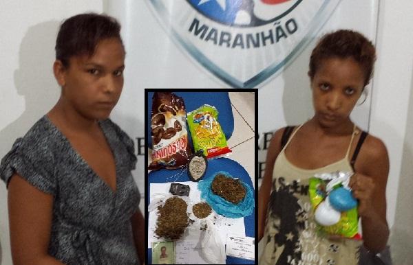 Graciele Mendes, de 22 anos,Raimunda Lucélia de Sousa, de 18 anos.