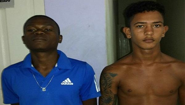 """Rafael de Jesus Morais, conhecido como """"De Menor"""", e Wilson Cruz Fernandes, o """"Macaco""""."""