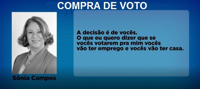 Escândalo: Prefeita eleita de Axixá foi gravada oferecendo emprego em troca de votos.
