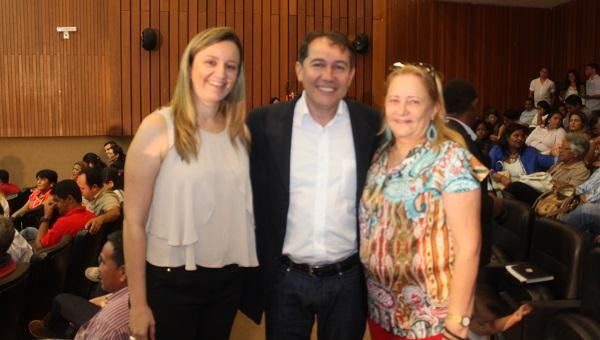 VEREADORA GARDÊNIA, PAULO MATOS E Dra. NEIDE SABÓIA.